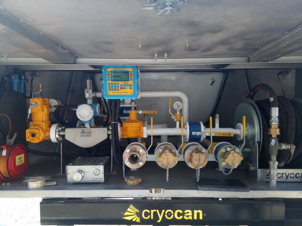 cryocan tanker sayaç